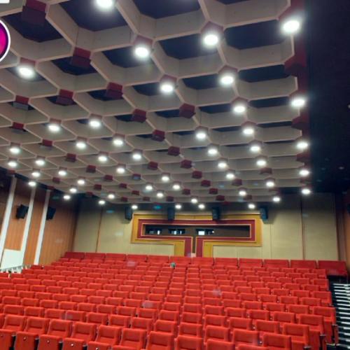 Dokončení projektu osvětlení kina v Českém Krumlově